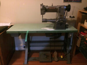 Consew Cylinder Arm Walking Foot Industrial Sewing Machine
