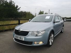 Skoda Superb ELEGANCE TDI CR (blue) 2010