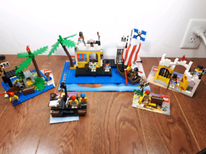 Vintage Lego Pirates sets