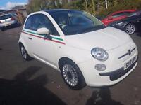 FIAT 500 LOUNGE++2012 REG++MOT APRIL 2018++6 STAMPS IN SERVICE BOOK++