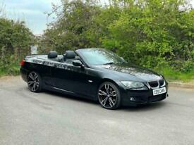 image for 2011 BMW 3 Series 2.0 320d M Sport 2dr, Convertible, Diesel, Black, 70k Miles