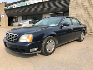 2002 CADILLAC  DeVILLE DHS. CERTIFIED AND E-TESTED.