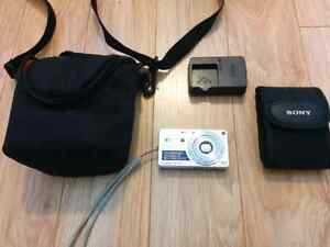 Sony Cybershot digital camera bundle  for sale