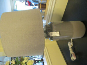Brand New Charcoal/medium Grey Lamp 20.5""