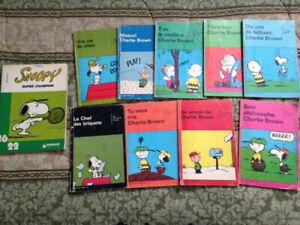 Bandes dessinées Charlie Brown