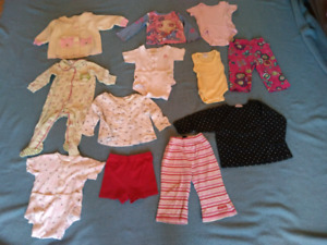 Lot of Girls 12 Months Clothes - Spring/Summer