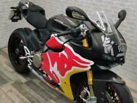 2014 (14) DUCATI 1199 S PANIGALE RED BULL SPECIAL.