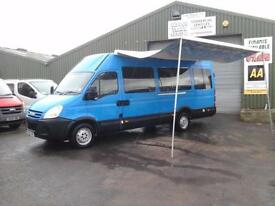 Iveco Daily ideal camper / moterhome conversion only 19,000 miles ex Council