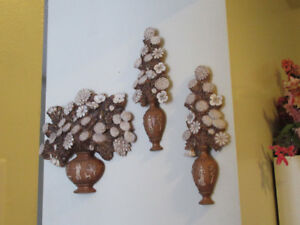 Decorative Floral Wall Art (3 pieces)