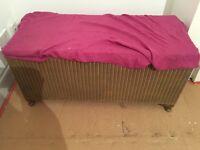 Lloyd loom chest storage box