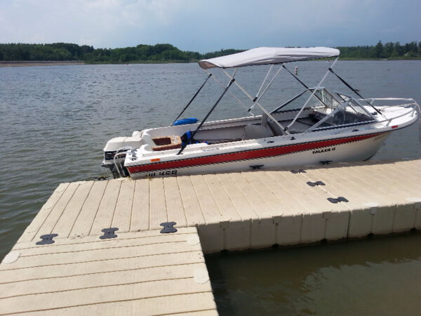 Used 1982 Other 17 foot Wilker Galaxie 16 Fibre glass
