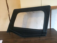 Top for Drivers side half door for Jeep YJ
