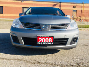 2008 Nissan Versa 1.8 S Hatchback/Accident Free/FullyCertified