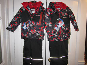 "Snowsuits, ""Monster"" Boys size 7 (1) & Size 8 (1), BNWT"