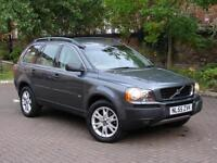 EXCELLENT DIESEL 7 SEATER 4X4! 55 REG VOLVO XC90 2.4 D5 SE AUTO GEARTRONIC AWD