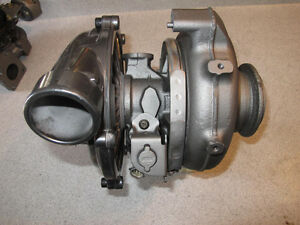 Rebuilt Ford 6.0 Powerstroke with bracket