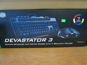 Cooler Master Devastator 3 Light-Up Keyboard