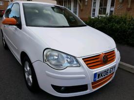 Volkswagen Polo White Twist 1.2 Manual, 3DRS Sport New Mot £1475