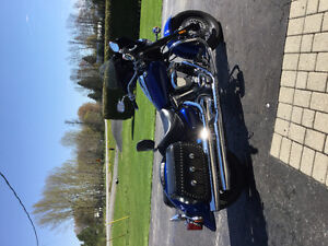 2003 Roadstar Blue colour  powder coated forks and wheels