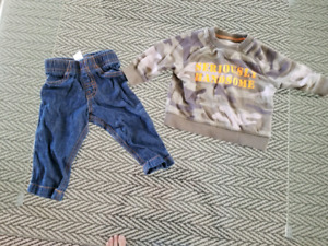 Boy clothes 0-3 months and 6 months