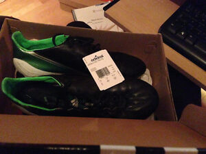 Adidas F50 Adizero Leather (Size 8 US) (Noir/Black)