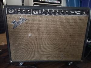 Oui Disponible VRAI DE VRAI Vintage 1966 Fender Pro Reverb