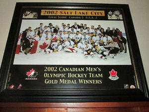 2002 MENS OLYMPIC *GOLD* Hockey team picture