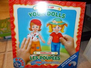 Jeu éducatif Dress up your dolls - Habille les poupées (D-Toys)