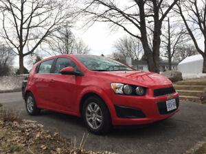 Chevrolet Sonic 2016 - Cession de bail ou Vente