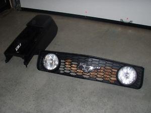 grille avans et console de mustang gt 2005