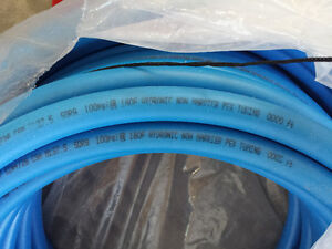 "165+ ft of 1"" Blue Pex water line"