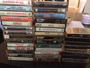 Cassette Tapes various artists
