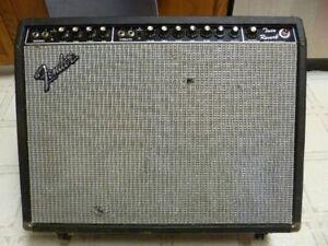 1970's Fender Twin Reverb Tube Amp