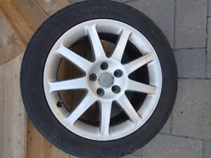 Like New Set of OEM Audi A6/A4 Alloy Wheels