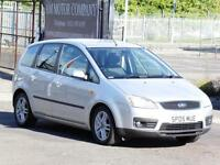Ford Focus C-MAX 1.6 16v 2005 Zetec, 47 000 Miles, 6 Months AA Warranty