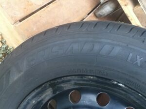 4 summer tires on rims. Oakville / Halton Region Toronto (GTA) image 5