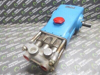 Used Cat Pumps 821 Piston Pump 10gpm 37.8 Lpm 1000 Max. Pressure 940 Rpm