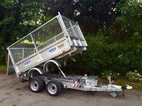 Dale Kane electric tipping trailer