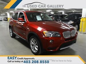 2014 BMW X3 xDrive28i, Panorama Sunroof, Rear View Camera, Nav.