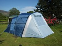 Coleman lakeside 4 tent 2 bedroom used once