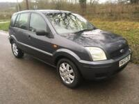 Ford Fusion 1.6 2 VERY LOW MILEAGE + 12 MONTHS MOT
