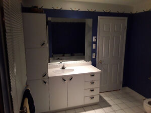 Meuble lavabo de salle de bain