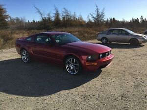 2007 Ford Mustang GT Coupe (2 door)might trade for jeep