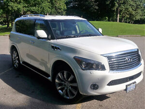 RARE 2012 - 7 Passenger Infiniti QX56 Loaded SUV - MINT!