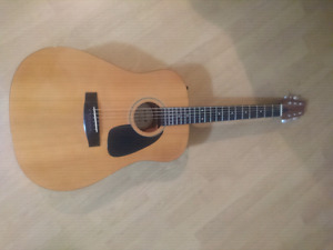 Samick SW115E 6 string electric acoustic guitar