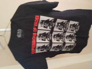 Star Wars Expressions of Vader Black T-Shirt (Size M)