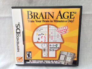 Nintendo DS - BRAIN AGE by Nintendo