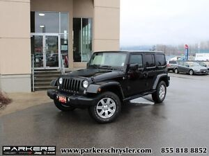 2014 Jeep Wrangler Unlimited Sahara   - Sahara- 4x4- Leather- Na