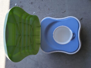 Potty trainer and step stool - Safety First