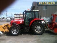Location Tracteur avec opérateur ou opérateur saisons hivernal
